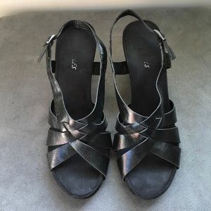Aerosoles High Heel Black Sandals SIZE 9.5